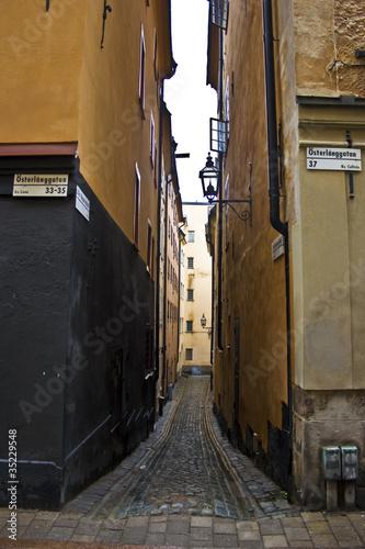 Staande foto Stockholm Schweden Stockholm Gamla Stan