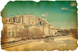 Fototapete Alt - Gelb - Pier