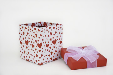 Heart Gift Box with Lid