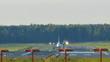 Aircraft take off (Fokker F50)