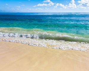Beach Sea Splashing
