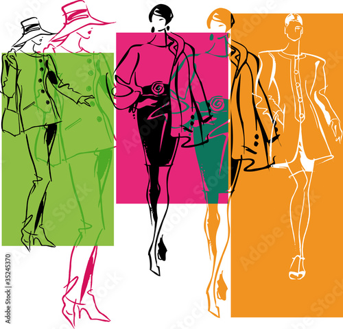 Fashion Women illustration
