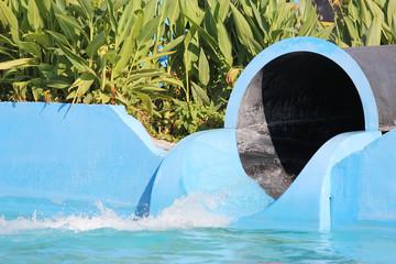 black hole in waterpark