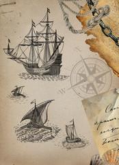 Pirate galion