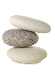 Pile of pebble stone