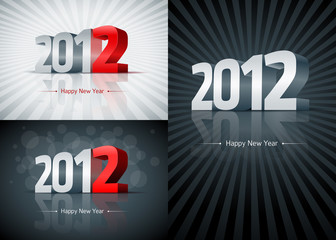 2012 Happy New Year Set