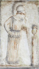 Atenea (copia de museo)