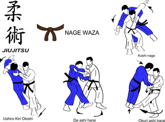 Jiu Jitsu Nage Waza 5