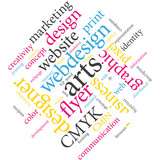 Designer creativity. Word cloud.