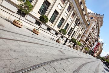 Avenida de la Constitución in Sevilla, Spanien