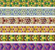 cenefas mosaico hexagonal