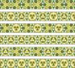 cenefas árabes verdes