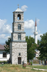Belltower And Minaret