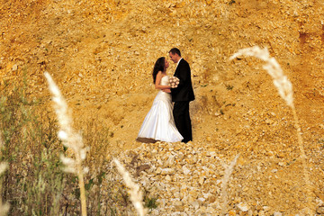 beauty, couple, lifestyle, outdoor, wedding, young