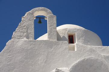 vieille église à Mykonos