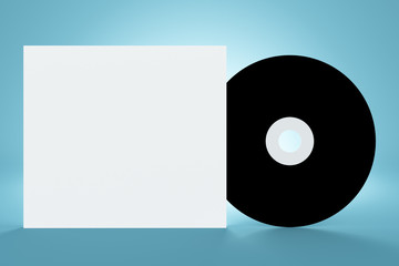 Blank cd cover