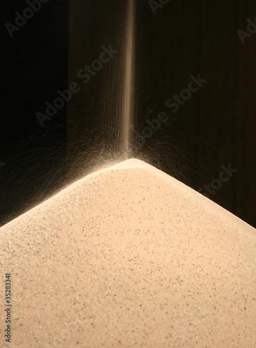 Fallender Sand