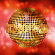 2012 glowing disco ball