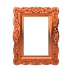 decorative bronze frame