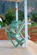Rocking Chairs on the Porch, Caribbean.
