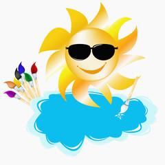 Summer solar picture