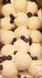 Blueberries in Vanilla Ice Cream