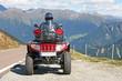 Mit dem Quad in den Alpen