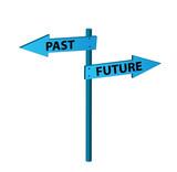 Past versus future poster
