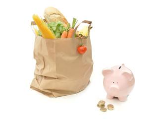 Grocery food budget