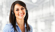 Smiling call center operator - 35303923