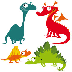 dragon, dinosaur and lizard