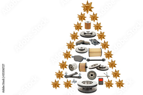 christmas tree for automotive - 35306727