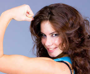 Performer Bodybuilder Posing