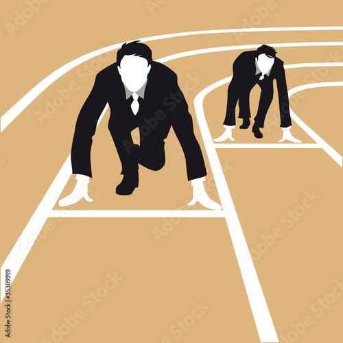 silhouette business, compétition