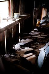 古い作業部屋