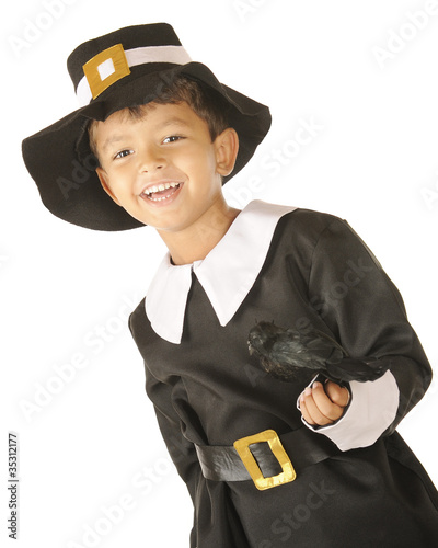 Pilgrim Boy, Happy with Bird