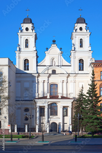 Cathedral of St. Virgin Mary in Minsk, Belarus