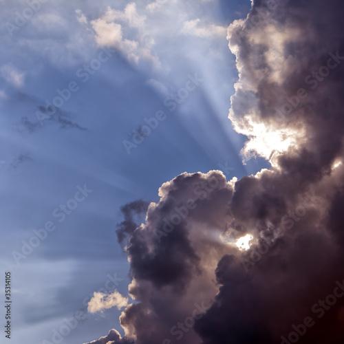storm clouds - 35314105
