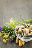 Herbal medicine and herbs - Fine Art prints