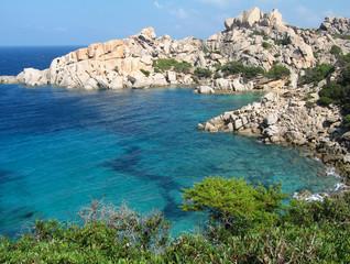 Scorcio della penisola di Capo Testa in Sardegna