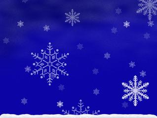 Hintergrund Schnee