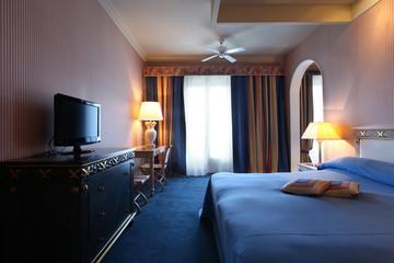 camera d'albergo, interno