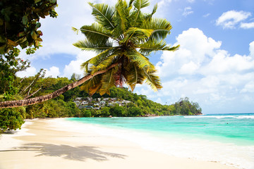 Anse Gouvernement in Mahe, Seychelles