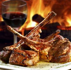 Carne grelhada