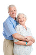 Happy smiling aged couple