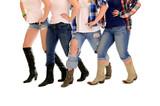 Fototapety Country Women Line Dance