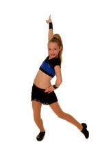 Confident Jazz Dancer Girl