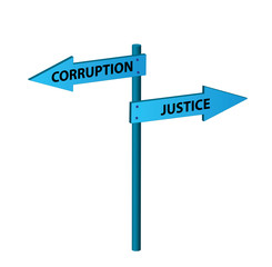 Corruption vs. justice