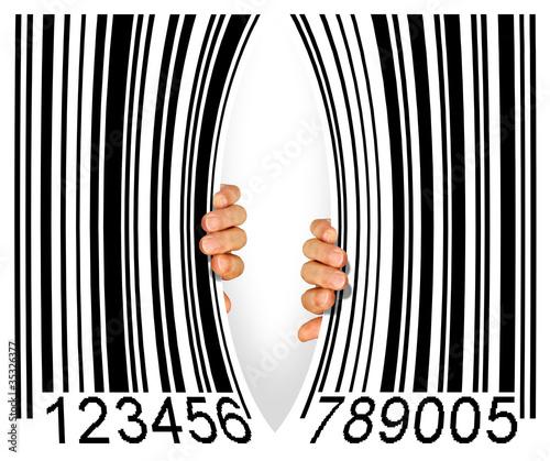 Torn Bar Code