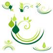verzierungen - grün set6